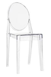 "Resin ""Victoria"" Ghost Chair | The Chiavari Chair Company"