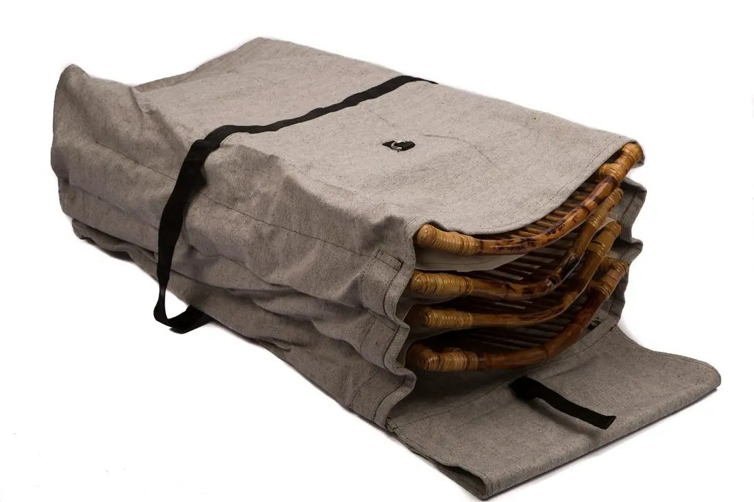 Carrying  Storage Bag for Bamboo Folding Chairs