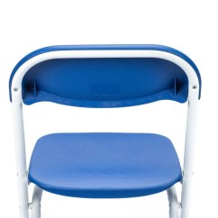 Blue Folding Chairs Throne Office Chair Plastic Children 39s