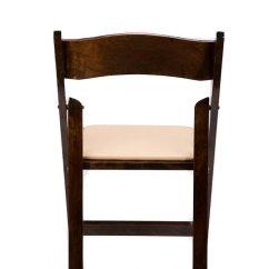 Folding Chair With Cushion Papasan Etsy Fruitwood Wood Tan Seat