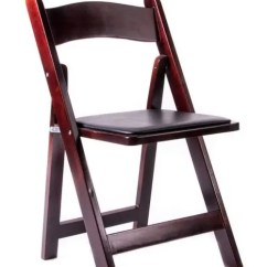 Folding Wood Chairs With Padded Seat Ergonomic Chair Grand And Toy | The Chiavari Company
