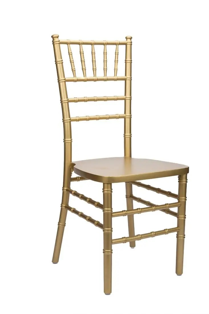 Gold Wood Stacking ANSI Standard Chiavari Chair  The