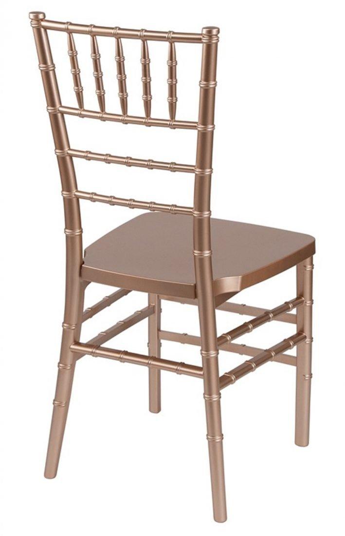plastic chiavari chair kids wicker rose gold resin mono frame co only 500 units