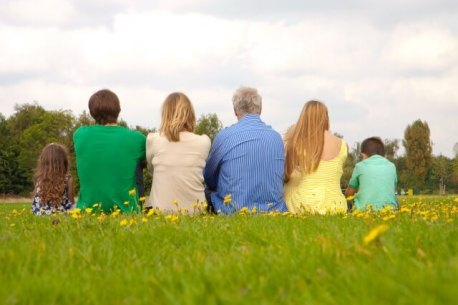 家族みんなで旅行