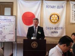 幹事報告①11/11第3分区Bゴルフ大会について②12/10忘年例会について