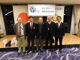 横浜緑ロータリークラブの皆様 ありがとうございました。