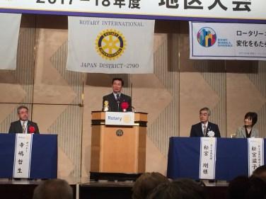 来賓祝辞  森田健作千葉県知事