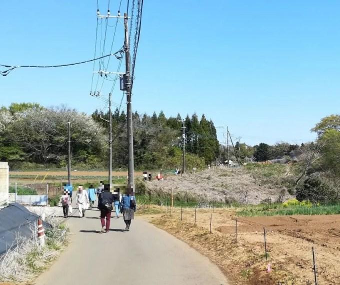 2019/04/13 吉高大桜までの道中01。
