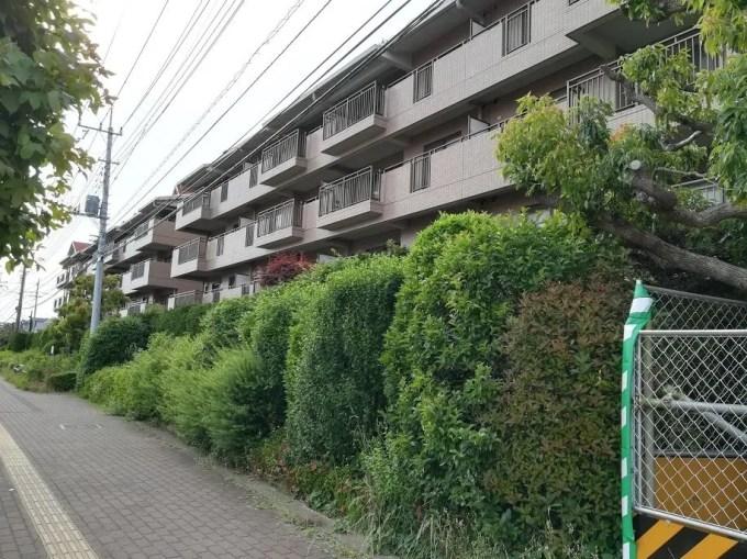 日立ハイテクノロジーズさんの旧宿舎にマンション03。
