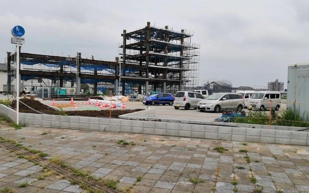 20190816、建設中の東横インさん、02。
