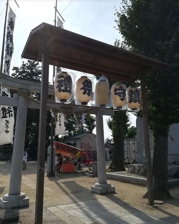 2018年の六軒厳島神社祭礼。02