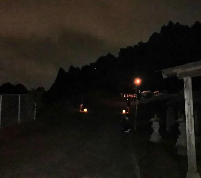 2019 阿夫利神社の梯子立てに行きました!06
