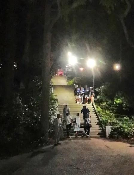 2019 阿夫利神社の梯子立てに行きました!07