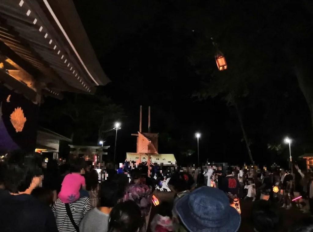 2019 阿夫利神社の梯子立てに行きました!12