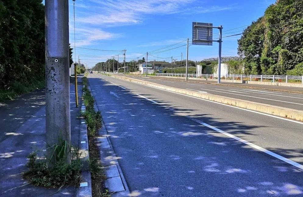 2019年10月の千葉ニュータウン北環状線桜台付近、04