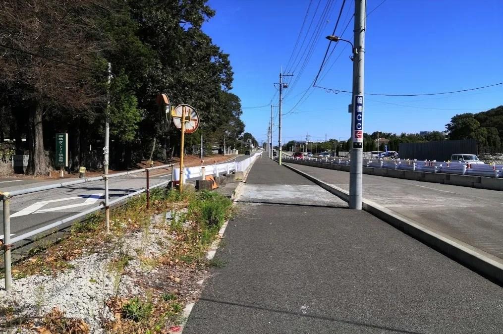 2019年10月の千葉ニュータウン北環状線桜台付近、10