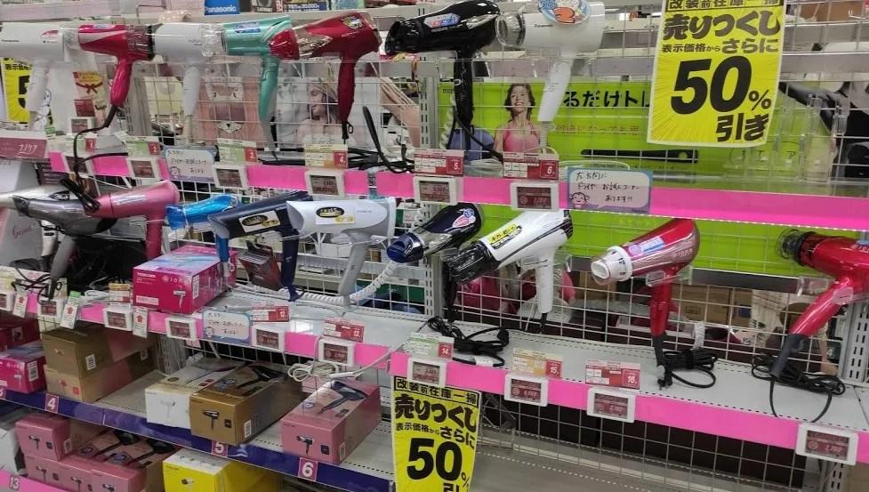 千葉ニューイオン「ノジマ」さんの改装前セール写真。14