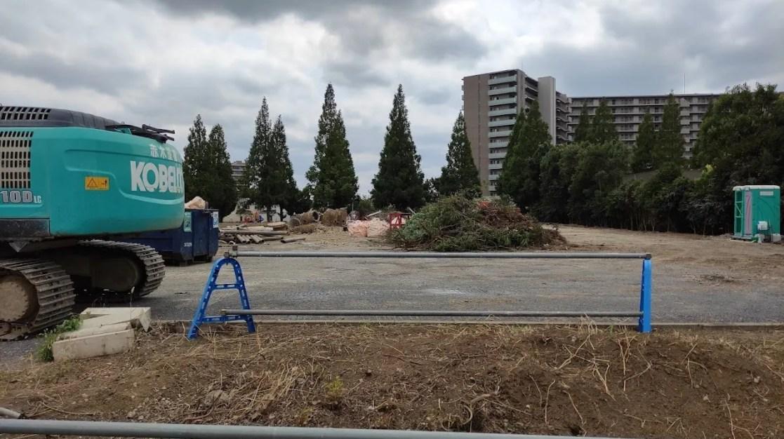 「トライアル」千葉ニュータウン店の解体状況、202108。05