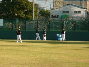 野球部練習風景