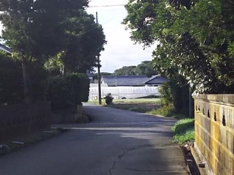 千葉県旭市飯岡のとある十字路