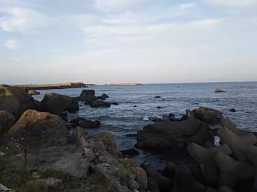 銚子市黒生海岸