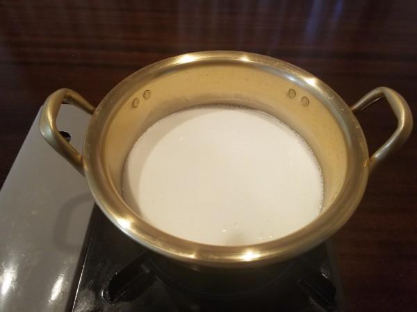 辛ラーメン牛乳①