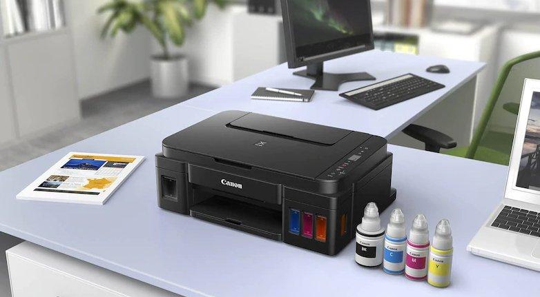 Multifunctional inkjet CISS Canon PIXMA A4