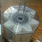 金魚の隔離用に30cmキューブ水槽に水作エイトコアMを導入