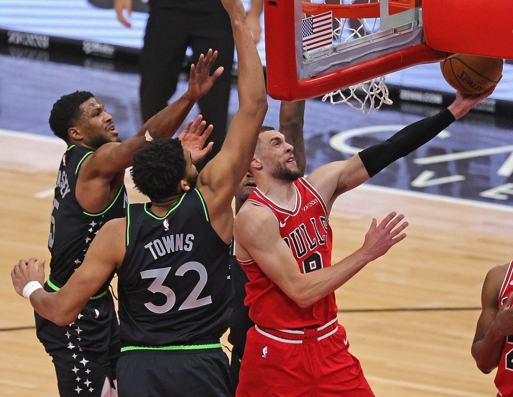 LaVine Scores 35 As Bulls Beat Timberwolves In OT – CBS Chicago