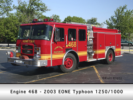 Hometown E-ONE Typhoon engine