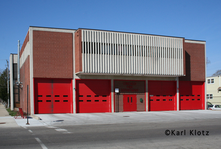 Chicago Fire Department engine 28's house