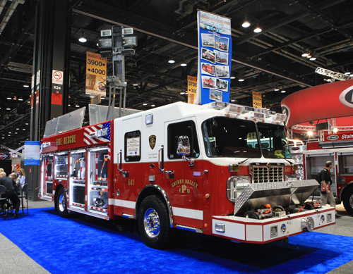 Cherry Valley Fire Department Spartan SVI Super Vac heavy rescue