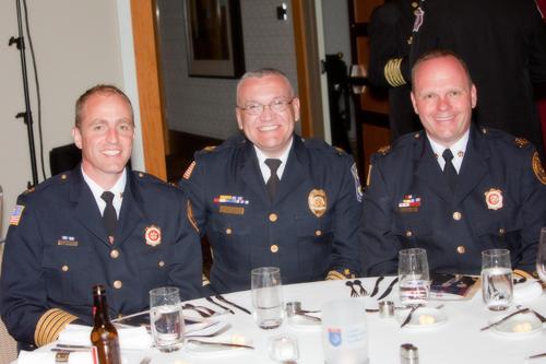 Lisle Woodridge and Downers Grove fire chiefs