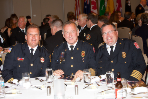 Downer Grove and Westmont fire chiefs