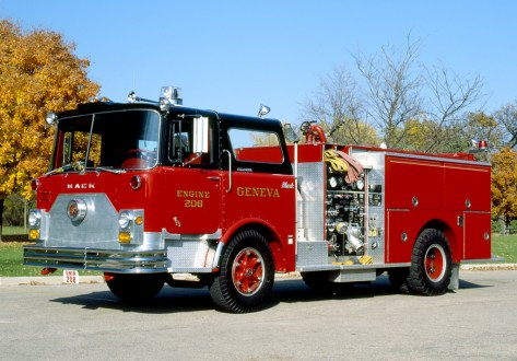 Geneva, IL Fire Department Mack CF Pierce engine
