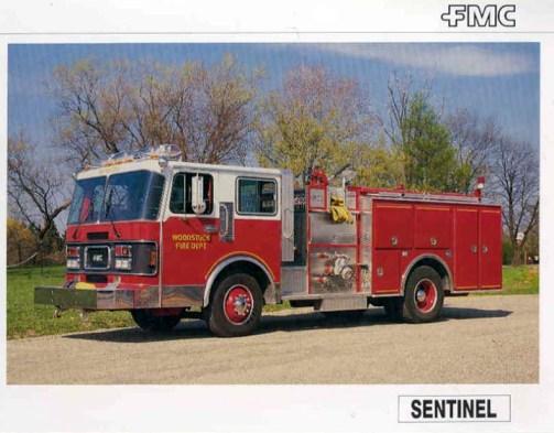 FMC Sentinel pumper Woodstock IL