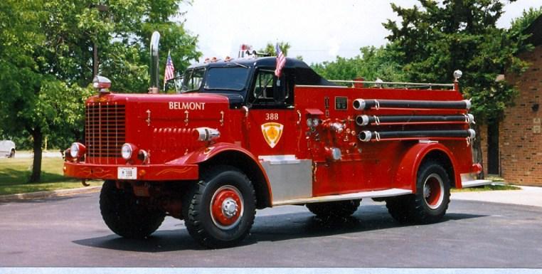 Darien Woodridge Belmont Fire District Oshkosh Howe engine