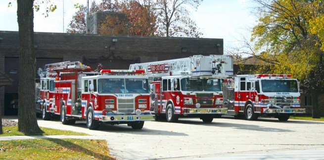 Tri-State Fire Protection District apparatus