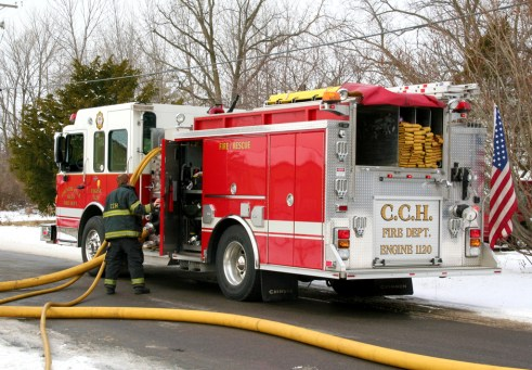 Country Club Hills Fire Department fire on 173rd Street