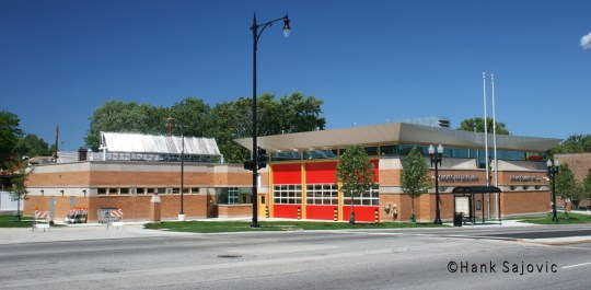 Chicago Fire Department station for Engine 121