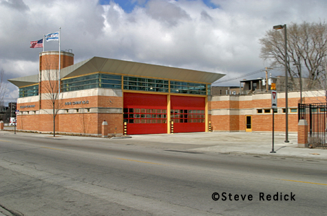 Chicago Fire Department station for Engine 63