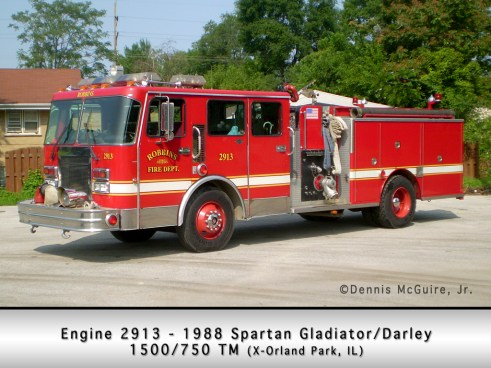 Robbins Fire Department Engine 2913