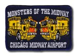 Chicago Fire Department Midway Airport patch