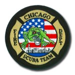 Chicago Fire Department patch Scuba team