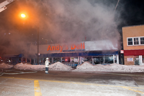 Chicago Fire Department 2-11 Andy's Deli 2-9-11
