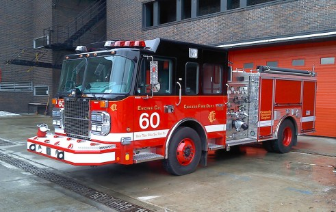 Chicago Fire Department Engine 60