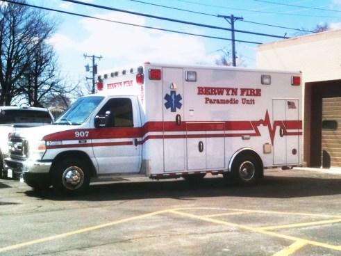 Berwyn Fire Department Ambulance 907 2011 Medtec