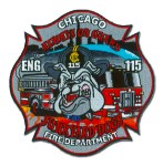Chicago Fire Department patch Engine 115