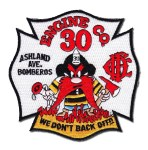 Chicago Fire Department patch Engine 30
