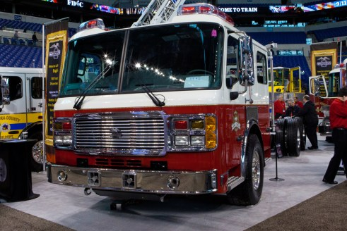 FDIC 2011 American LaFrance Eagle chassis